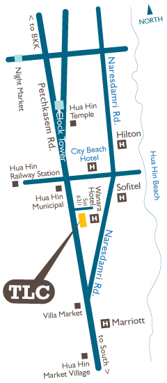 TLC Location Map
